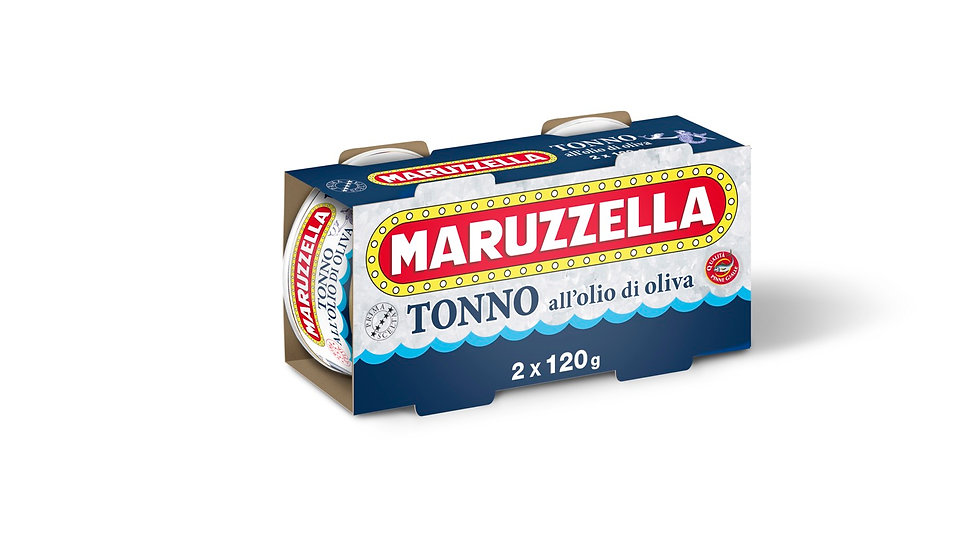 Tonno Maruzzella all'olio di oliva 120gx2