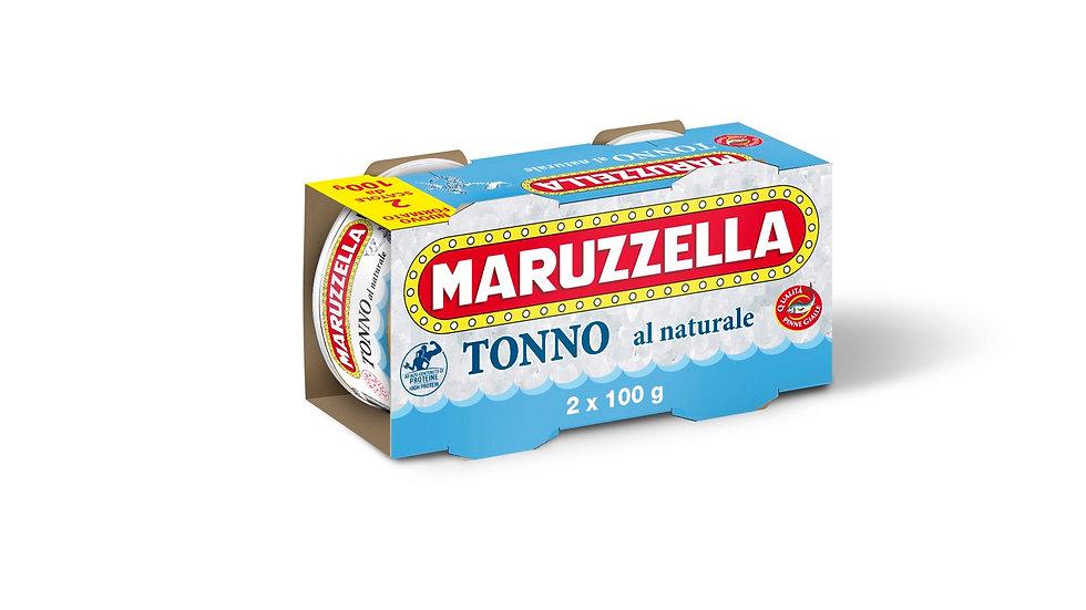 Natürlicher Thunfisch 100gx2