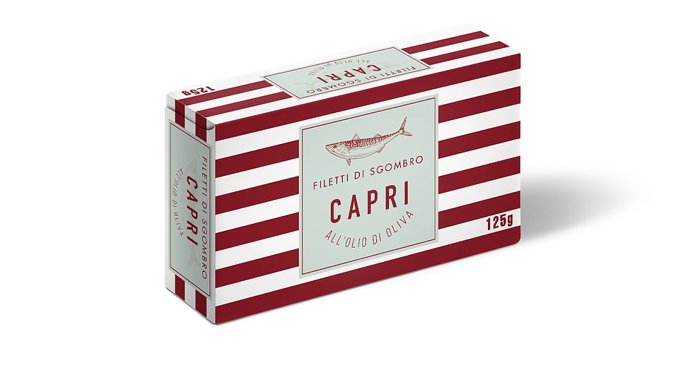 Filetti di Sgombro Capri in olio girasole