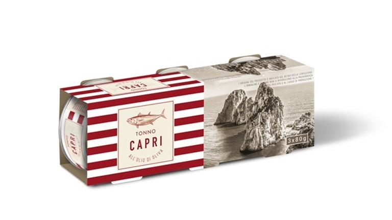 Tonno in olio d'oliva linea Capri  3x80g