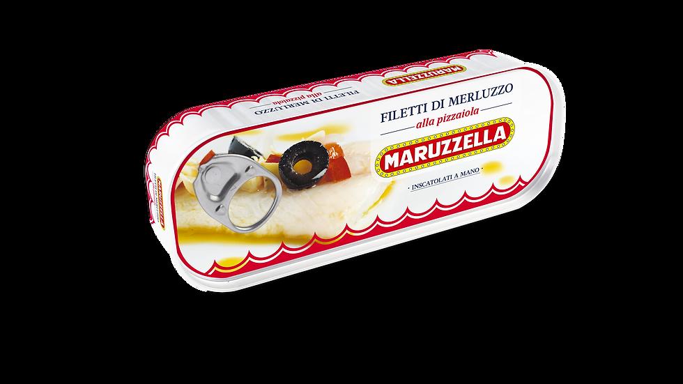 Kabeljaufilets Maruzzella mit Pizzaiola 130g
