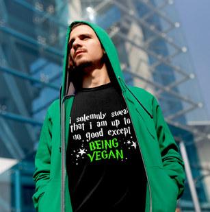 Vegan harry potter Shirt, I solemnly swear Vegan T Shirt. Vegan Harry Potter T Shirt