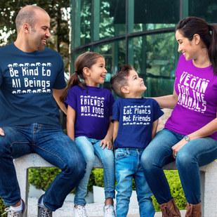Vegan Family T Shirts