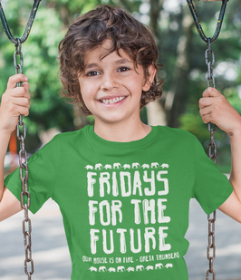 fridays for future greta thunberg t shirt