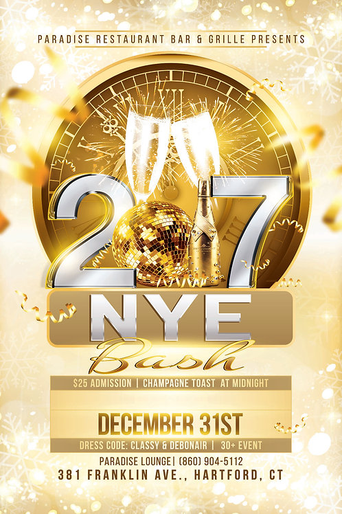 New Years Eve Extravaganza Tickets