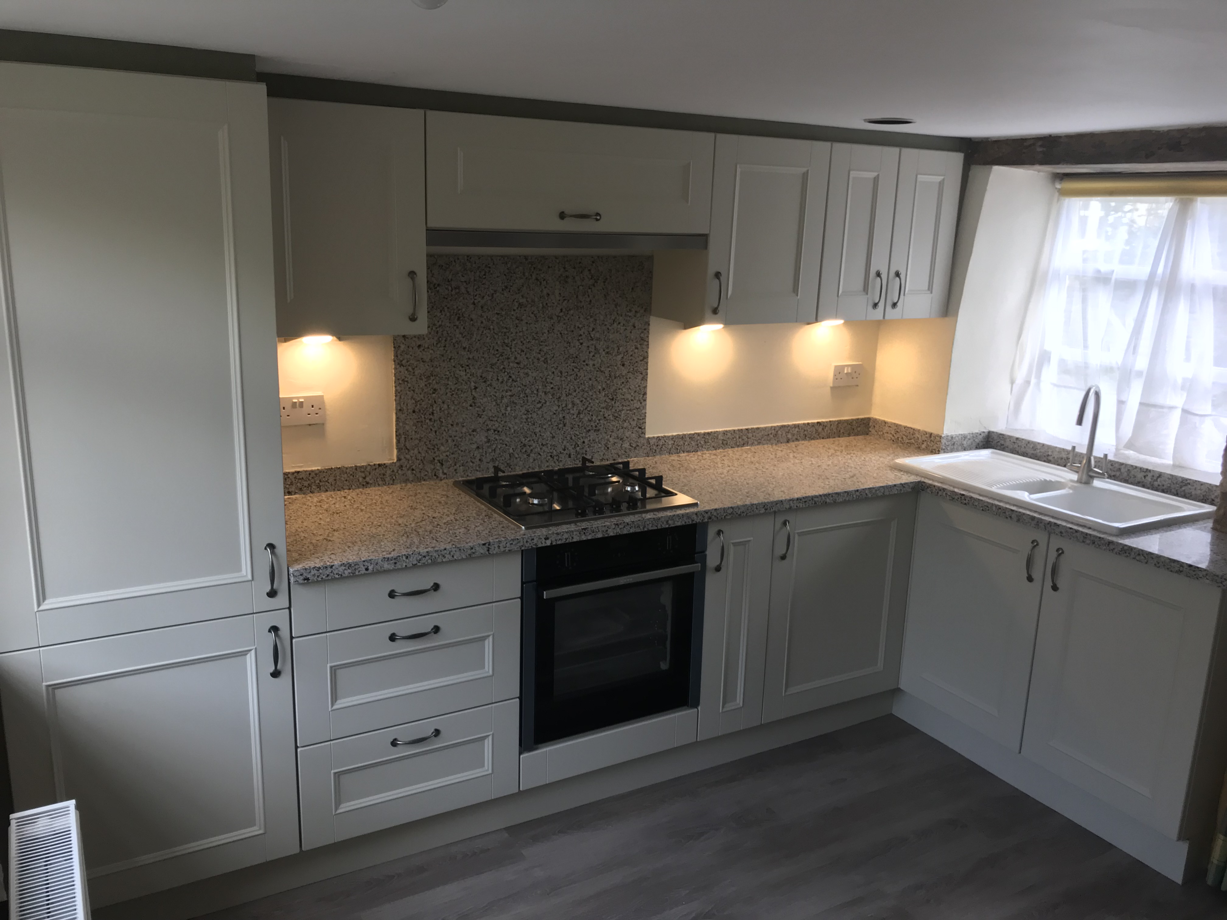 Grey replacement kitchen doors