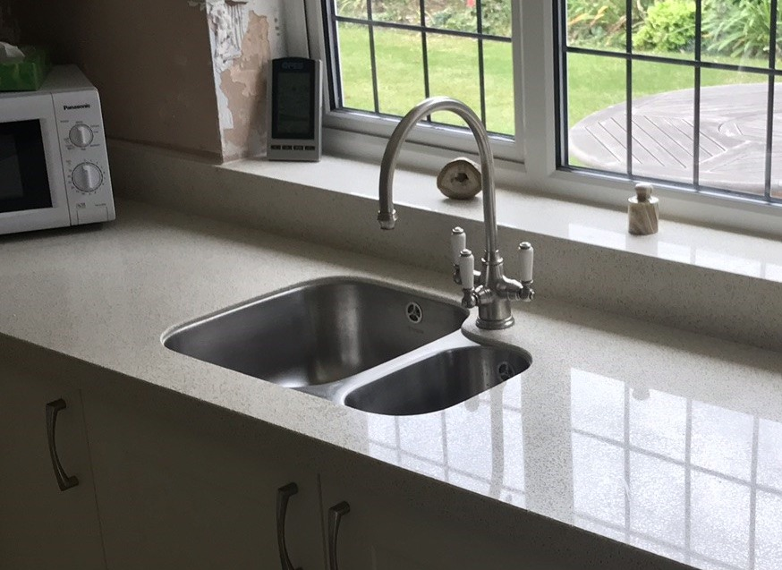 Ceramic Sink & Granite Worktop