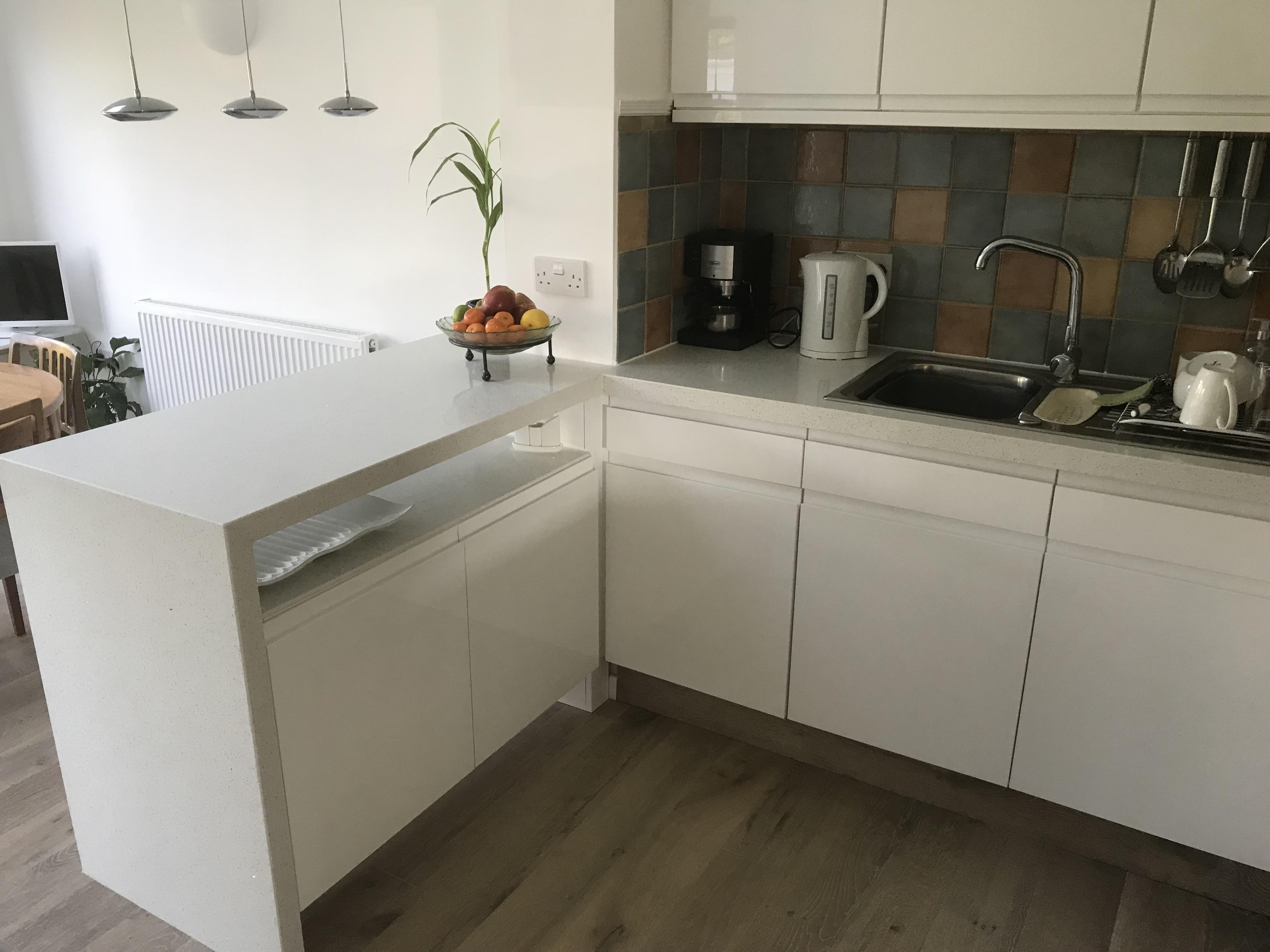Acrylic replacement kitchens doors