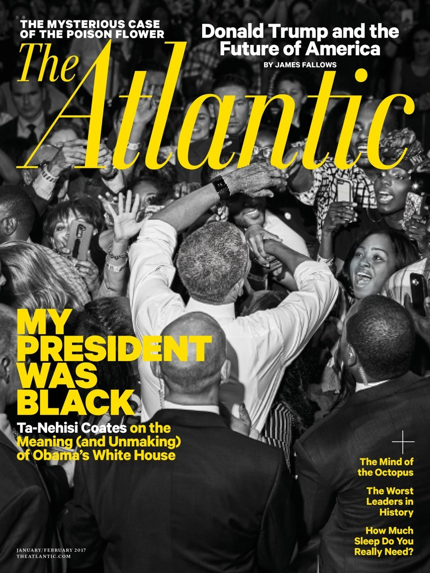 The Atlantic: My President was Black