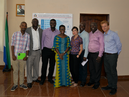 Co-Creating City Wide Learning and Capacity Building in Freetown