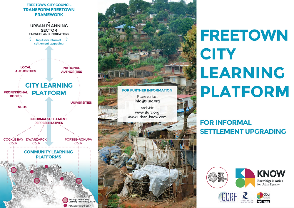 Freetown City Learning Platform Flyer- Click to download
