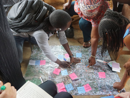 Learning trajectories. Co-learning for action to transform Freetown.