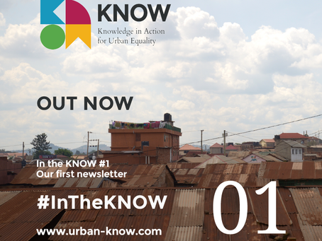 In the KNOW Issue 1 - Out now!
