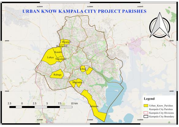 Kampala Project Map