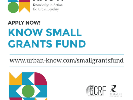 Applications Open | KNOW Small Grants Fund