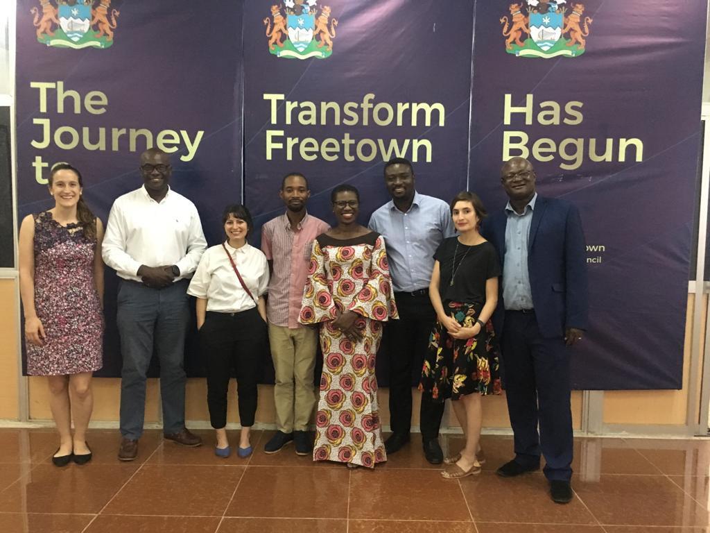Mayor of Freetown meeting