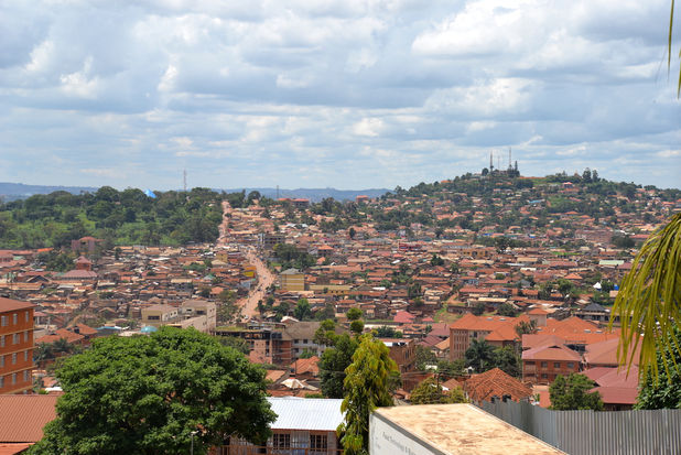 Kampala urban setting