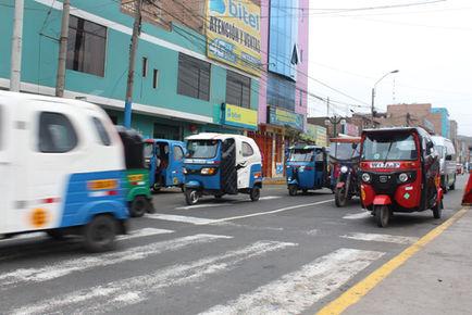 City streets, Lima