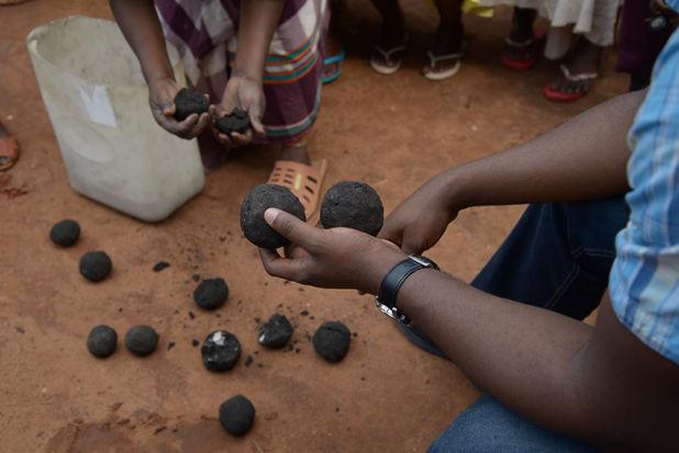 Briquette making