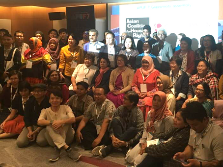 'We are Ready': Grassroots Leaders Call for Inclusive Planning at Asia Pacific Urban Forum 7