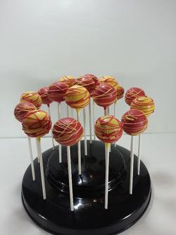 FSU Theme Cake pops