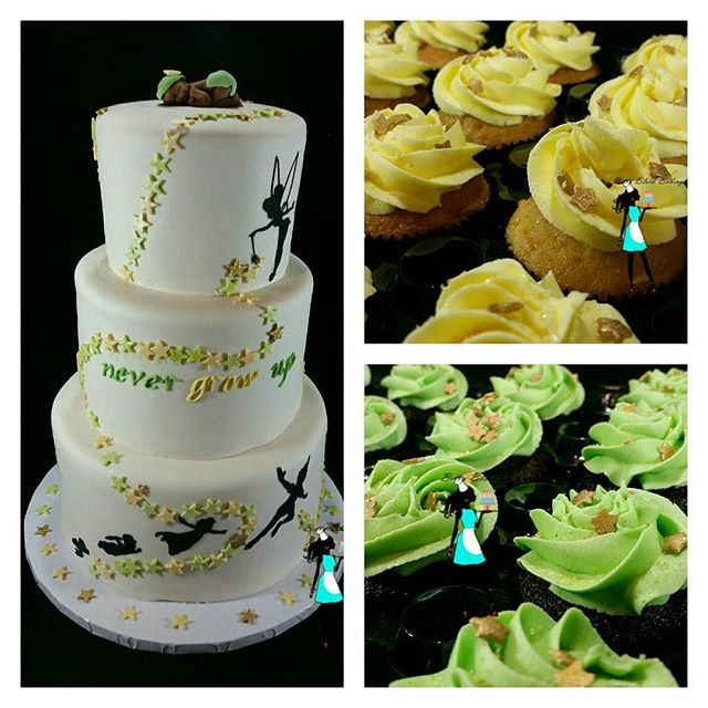 Peter Pan themed Baby Shower cake