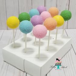 Pastel Rainbow cake pops