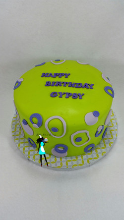 Green & Purple Birthday
