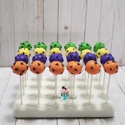 Flinstone themed cake pops