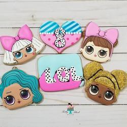 LOL Surprise Dolls cookies. ._._