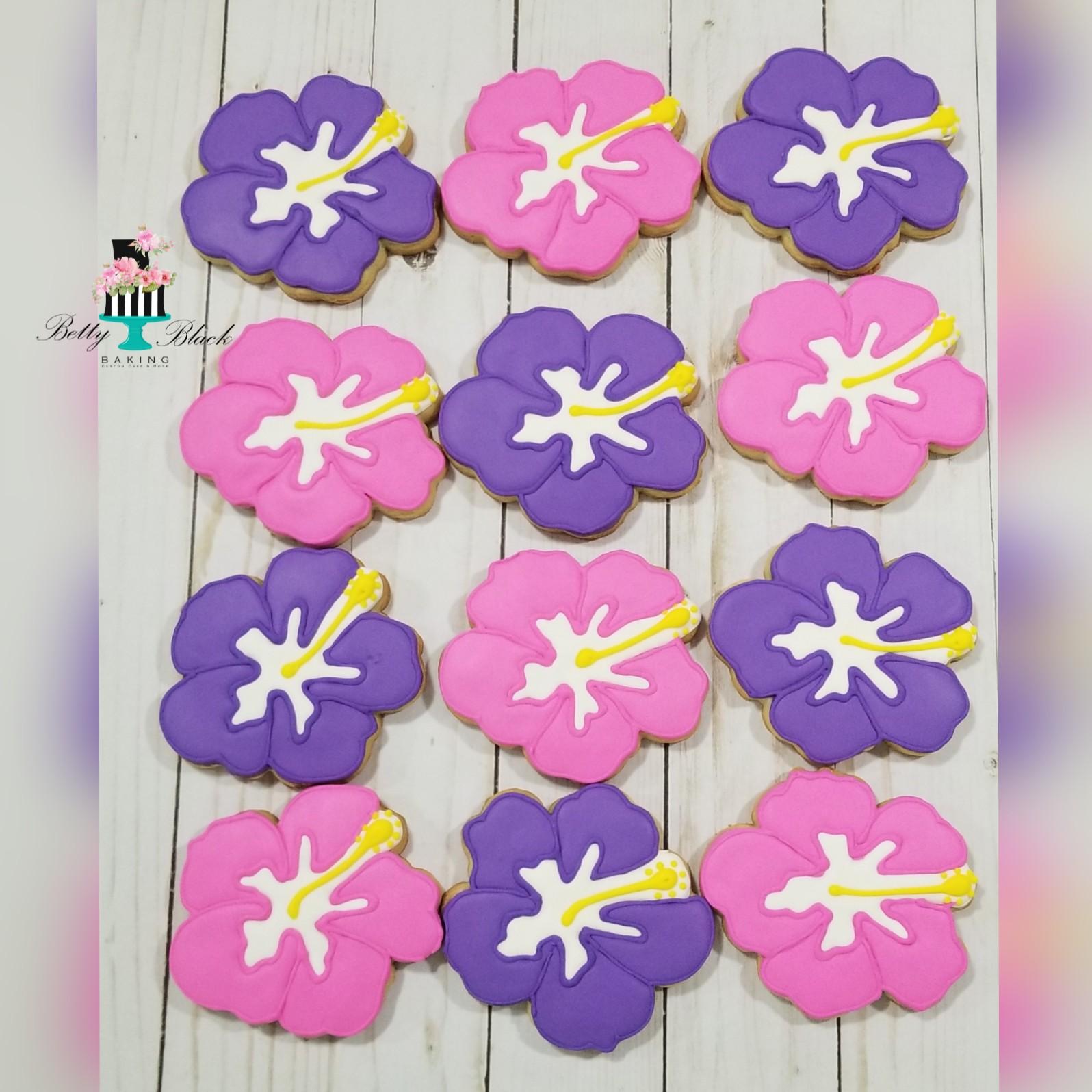 Hibiscus Cookies