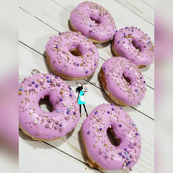 Donuts! New menu item! Add them to your dessert table! _ohyouresofancy I just love your sprinkle ble