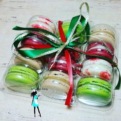 Christmas Mixed macaron box set