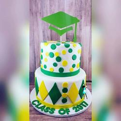 Graduation cake for 8th grade at my kid's school