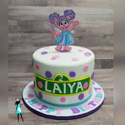 Abby Cadabby Birthday Cake