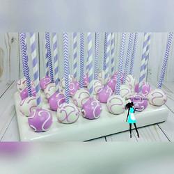 1st communion cake pops