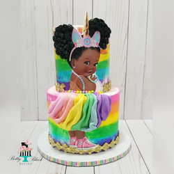 Unicorn Baby Cake