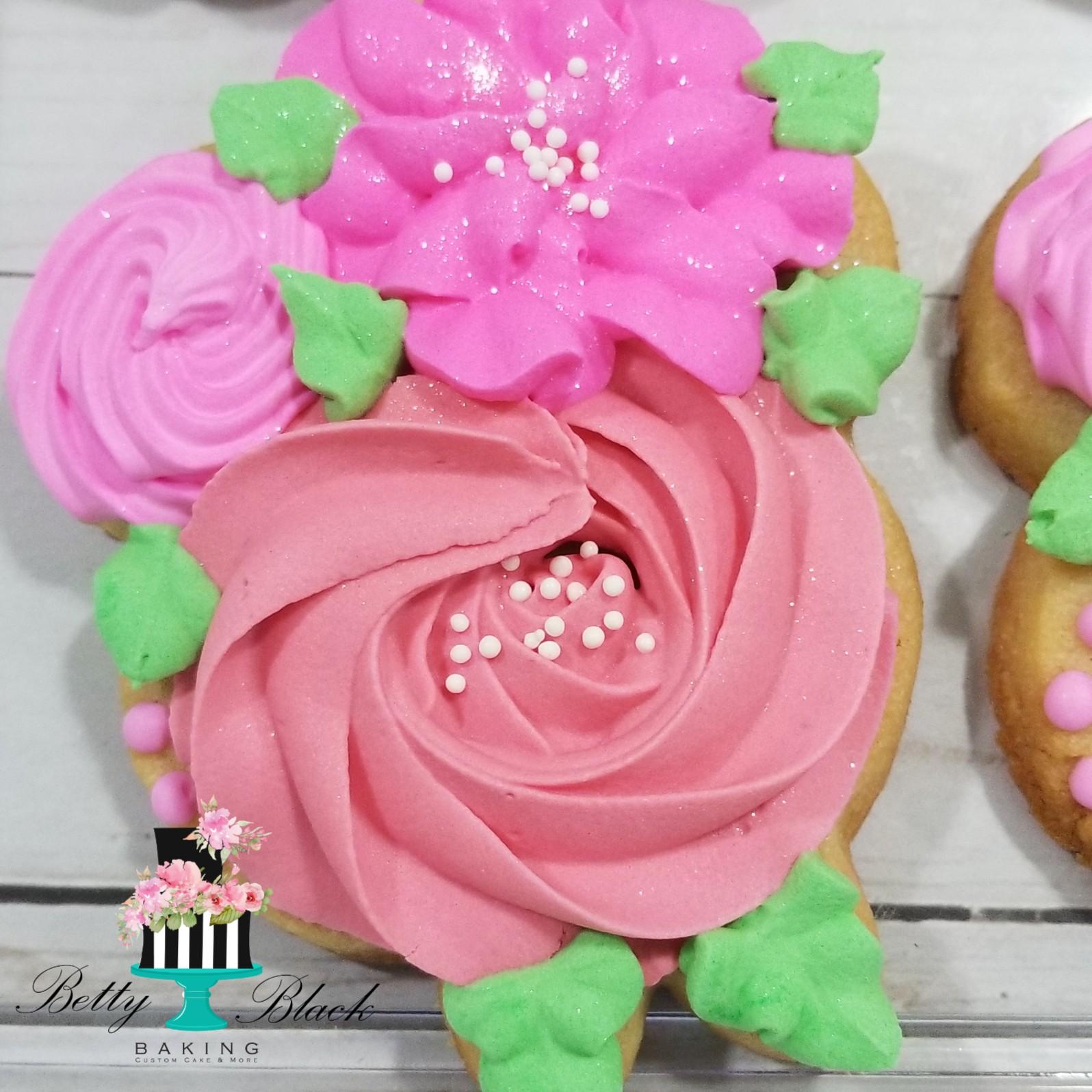 Floral cookie