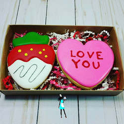 Valentine's day Large cookie sets