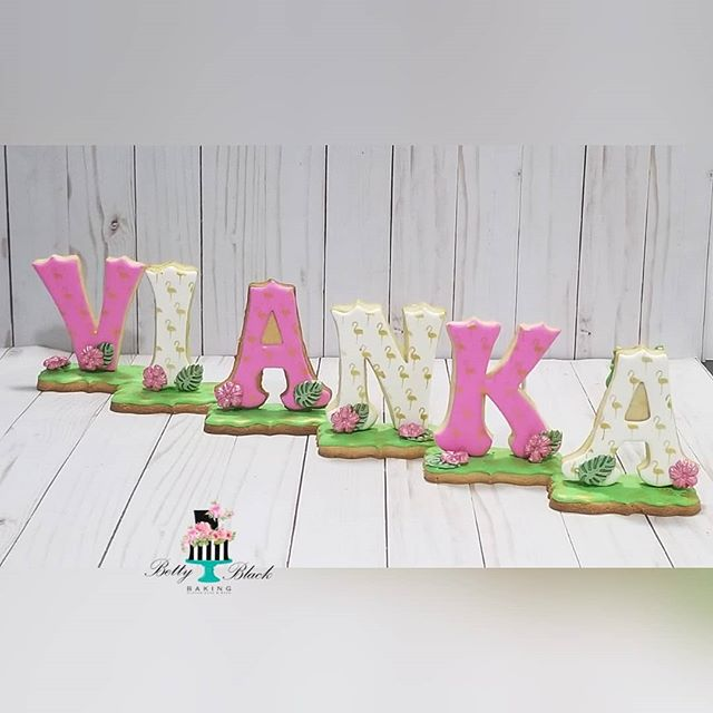 Tropical themed of our 3d Signature Lett