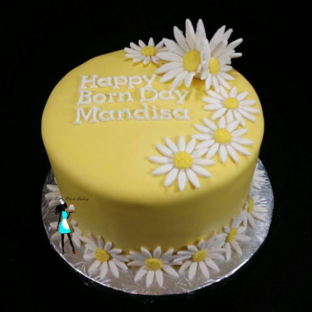 Daisy Birthday Cake
