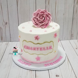 Happy Birthday Chantelle!!!!! Vienna cak