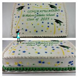 2015 Graduation Sheet cake