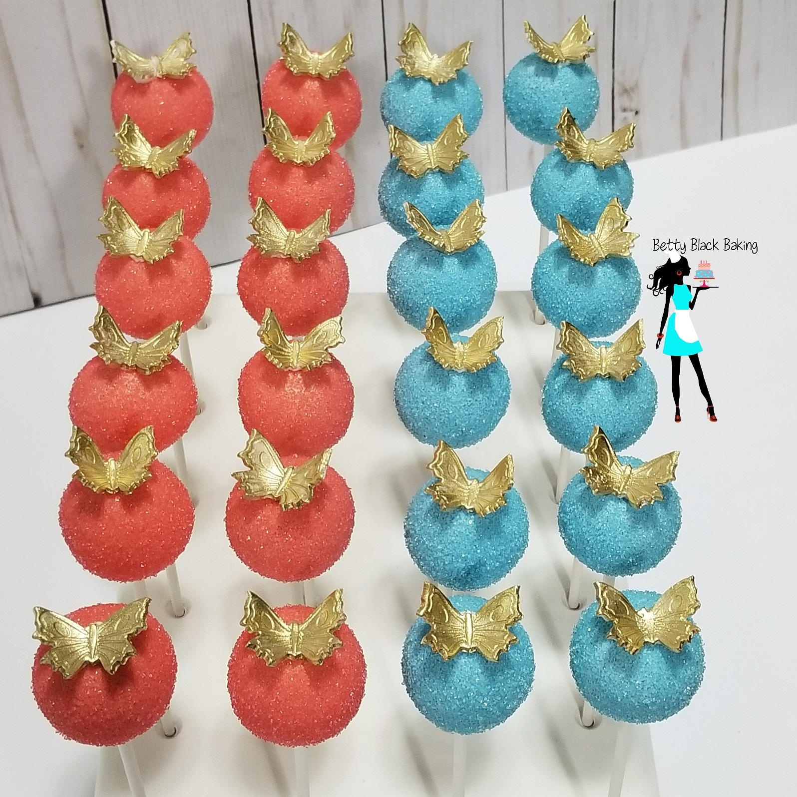 Cinderella themed cake pops