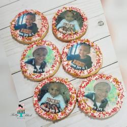 Simple edible image cookie