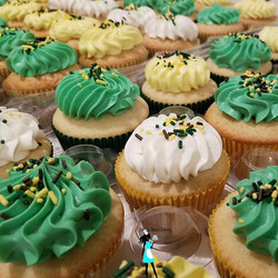 #TBT vanilla cupcakes for a graduation last month