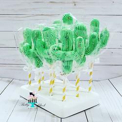 Cactus shaped Meringues!_._._
