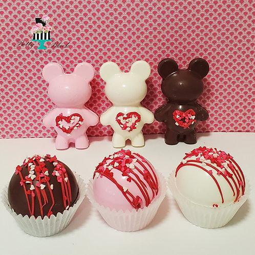 Valentine Mini Cocoa Bombs