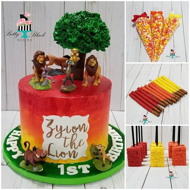 Zyion the lion is 1! Lion king themed 1s