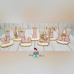 3D Name cookies